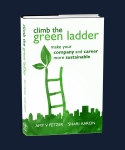 Winning Book Cover for Climb The Green Ladder